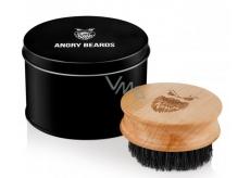 Angry Beards Safe dřevěný kartáč na vousy