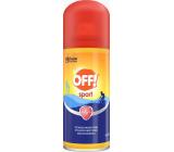 Off! Sport repelent proti klíšťatům, komárům rychleschnoucí sprej 100 ml