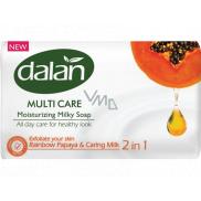 Dalan Multi Care Rainbow Papaya & Caring Milk toaletní mýdlo 90 g