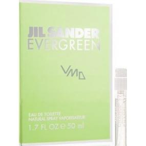 Jil Sander Evergreen toaletní voda pro ženy 1,2 ml s rozprašovačem, Vialka