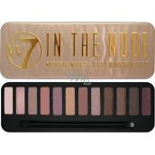 W7 In The Nude Eye Colour Palette paletka 12 očních stínů