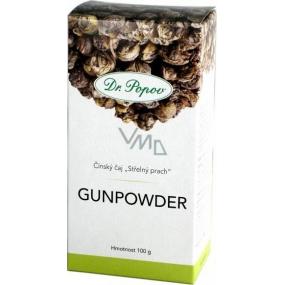 Dr.Popov Gunpowder čínský zelený čaj 100 g