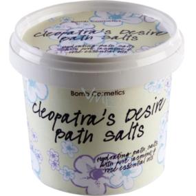 Bomb Cosmetics Kleopatřina touha - Cleopatra´s Desire Přírodní, koupelová sůl 365 ml
