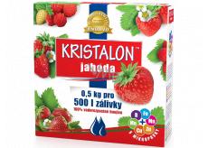 Agro Kristalon Jahoda vodorozpustné univerzální hnojivo 0,5 kg pro 250 l zálivky