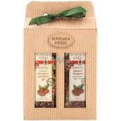 Bohemia Herbs Kofein sprchový gel 250 m + šampon 250 ml, kosmetická sada