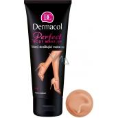 Dermacol Perfect voděodolný zkrášlující tělový make-up odstín Tan 100 ml