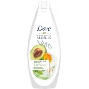 Dove Nourishing Secrets Povzbuzující rituál sprchový gel s avokádovým olejem a extraktem z měsíčku lékařského 250 ml