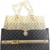 Nekupto Dárková papírová taška malá 19 x 14 x 9 cm kabelka s řetízkem 043 LCS