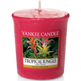 Yankee Candle Tropical Jungle - Tropická džungle vonná svíčka votivní 49 g