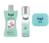 Fenjal Rose sprchový gel 200 ml + deodorant spray 150 ml + toaletní mýdlo 100 g, kosmetická sada