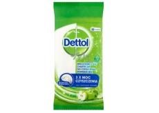 Dettol Zelené jablko antibakteriální ubrousky na povrchy 36 kusů