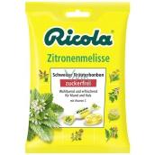 Ricola Zitronenmelisse - Meduňka švýcarské bylinné bonbóny bez cukru s vitamínem C z 13 bylin 75 g