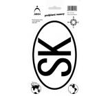 Arch Autosamolepka předpisová SK 611-SK 12,5 x 23 cm