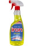 Iron Citrus čistič skel s alkoholem rozprašovač 750 ml