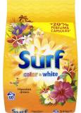 Surf Color & White Hawaiian Dream prášek na praní barevného i bílého prádla 60 dávek 3,9 kg