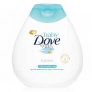 Dove Baby Rich Moisture zklidňující tělové mléko pro děti 200 ml