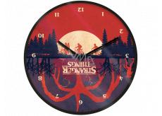 Epee Merch Stranger Things Nástěnné hodiny 24,5 x 24,5 cm