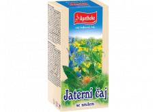 Apotheke Jaterní čaj se smílem přispívá k normální funkci trávení 20 x 1,5 g