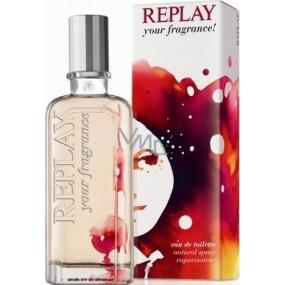 Replay Your Fragrance Woman toaletní voda pro ženy 40 ml