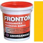 Fronton Anorganická prášková barva Žlutá pro venkovní a vnitřní použití 800 g