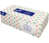 Linteo Satin papírové kapesníčky dvouvrstvé krabička 200 kusů
