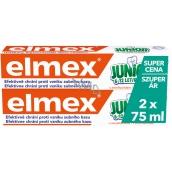 Elmex Junior 6 -12 let zubní pasta 2 x 75 ml, duopack
