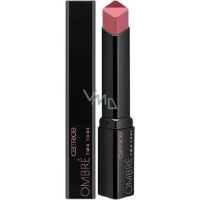Catrice Ombré Two Tone Lipstick rtěnka 030 Grapedation Nude 2,5 g