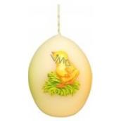 Zvířátka velikonoční svíčka smetanová vajíčko 54 g