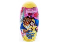 Disney Princess - Kráska a zvíře 2v1 šampon a kondicionér pro děti 300 ml