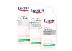 Eucerin DermoCapillaire šampon proti suchým lupům 2 x 250 ml, duopack