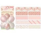 Smršťovací dekorace na vejce dekupáž 10 kusů
