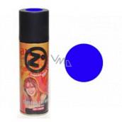 Zo barevný lak na vlasy Modrý 125 ml sprej