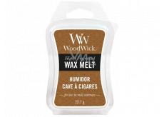 WoodWick Humidor - Pouzdro na doutníky vonný vosk do aromalampy 22.7 g