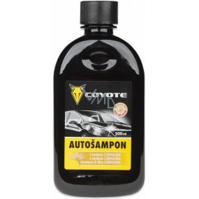 Coyote Autošampon s voskem Carnauba 500 ml