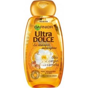 Garnier Ultra Doux Rituál krásy vyživující šampon pro suché, hrubé vlasy 250 ml
