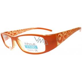 Berkeley Čtecí dioptrické brýle +2,50 oranžové 1 kus R7603 PD62
