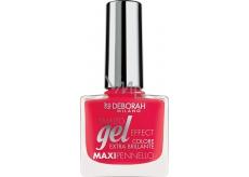 Deborah Milano Gel Effect Nail Enamel gelový lak na nehty 21 Infrared 11 ml