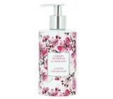 Vivian Gray Flowers Cherry Luxusní tekuté mýdlo s dávkovačem 250 ml