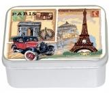 Le Blanc Růže - Paris Carte přírodní mýdlo tuhé v krabičce 100 g