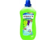 Sidolux Universal Zelené hrozny univerzální mycí prostředek na všechny omyvatelné povrchy a podlahy 1 l