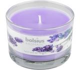 Bolsius Aromatic French Lavender - Francouzská Levandule vonná svíčka ve skle 90 x 65 mm 247 g doba hoření cca 30 hodin