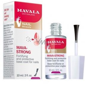 Mavala Mava-Strong 2v1 ochranný a posilující podkladový lak na nehty 10 ml