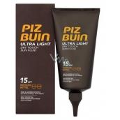 Piz Buin Ultra Light SPF15 ultra lehký hydratační fluid na opalování 150 ml