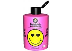 Smiley World Pink koupelový a sprchový gel pro děti 300 ml