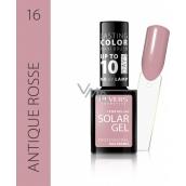 Revers Solar Gel gelový lak na nehty 16 Antique Rosse 12 ml