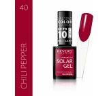 Revers Solar Gel gelový lak na nehty 40 Chili Pepper 12 ml