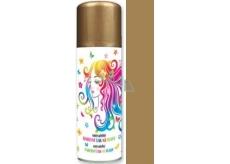 Anděl barevný lak na vlasy zlatý 125 ml
