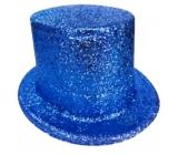 Cylindr karnevalový 25 cm modrý