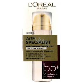 Loreal Paris Age Specialist 55+ komplexní remodelační krém na tvář, krk a dekolt 50 ml