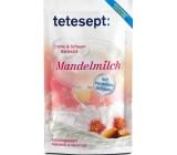 Tetesept Mandlové mléko krém & pěna sůl do koupele 80 g
